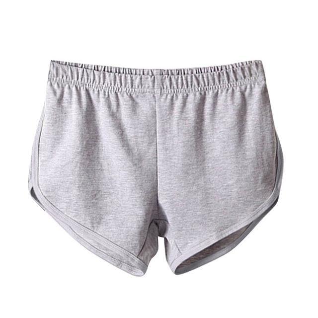 Plus Größe Sommer elastische Taille Frauen Shorts Mädchen kurze Hosen Allgleiches lose feste weiche Baumwolle beiläufige kurze Femme   – Products
