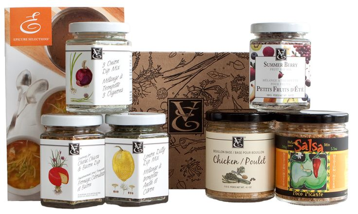 A ton of recipes you can make with the help of 6 Epicure Selections products! I love this set! Top 6 Collection $49.99. Order online! rachellundershute.myepicure.com