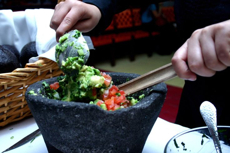 Rosa Mexicano 61 Columbus Ave at 62nd St. Try fresh Guacamole. Programs for children available.
