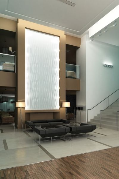 Beautiful visually beautiful design wall decoration panels for Hotel wall decor