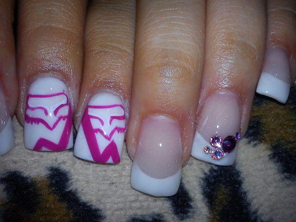FoxRacing Nails