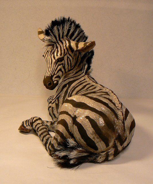 Lesley D. McKenzie-Raku Ceramic Sculpture