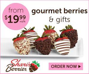 Shari's Berries promo code