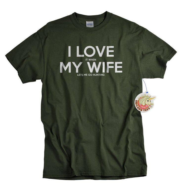 Haha , i know a few men that need this I love my wife t shirt I love it when my wife lets by UnicornTees, $14.99