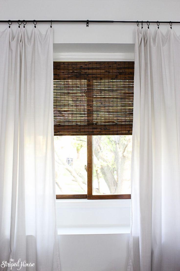 Living Room Window Makeover Living Room Windows Curtains Living