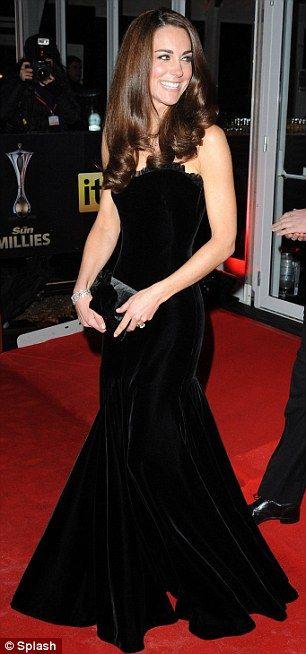 Alexander McQueen Velvet Gown