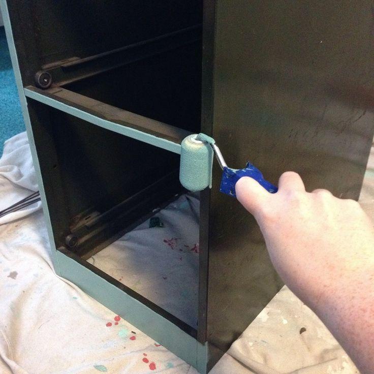 File cabinet makeover idea