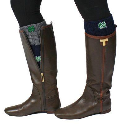 Women's ZooZatz Notre Dame Fighting Irish Knit Cuff Socks
