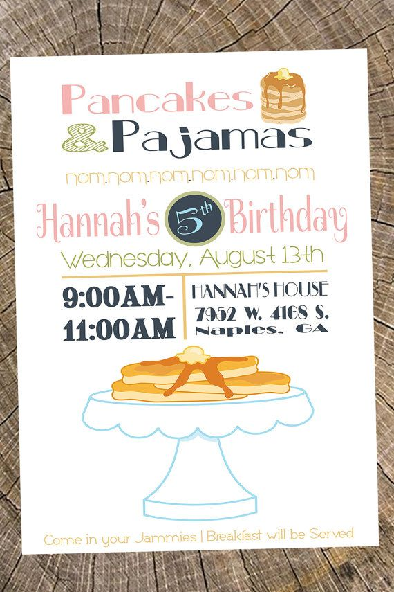 Pancake party invitation pancake and pajama party pancake bar pancake party invitation pancake and pajama party pancake bar wedding shower bridal shower invitation couple shower invitation pajama party pancakes filmwisefo Gallery