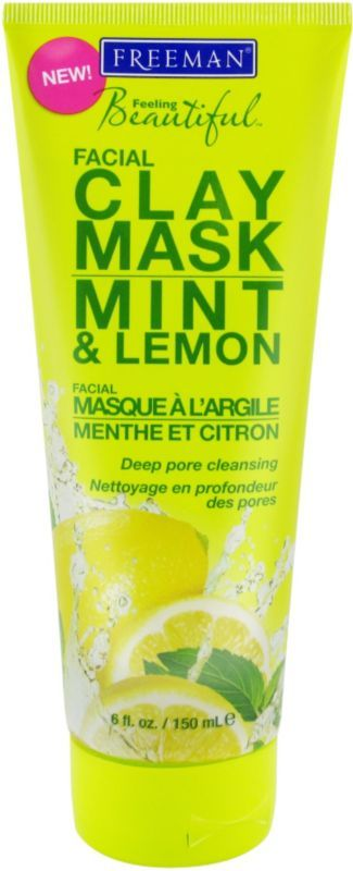 Freeman Feeling Beautiful Mint & Lemon Facial Clay Mask Ulta.com - Cosmetics, Fragrance, Salon and Beauty Gifts