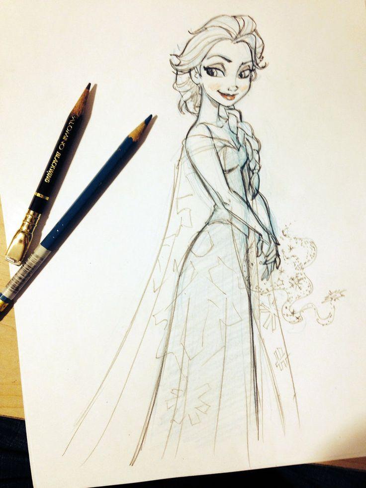 Elsa From Frozen | Elsa from FROZEN by tombancroft