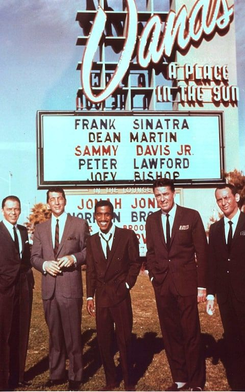 The Rat Pack at The Sands