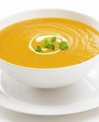 Curried Pumpkin Soup with Ginger