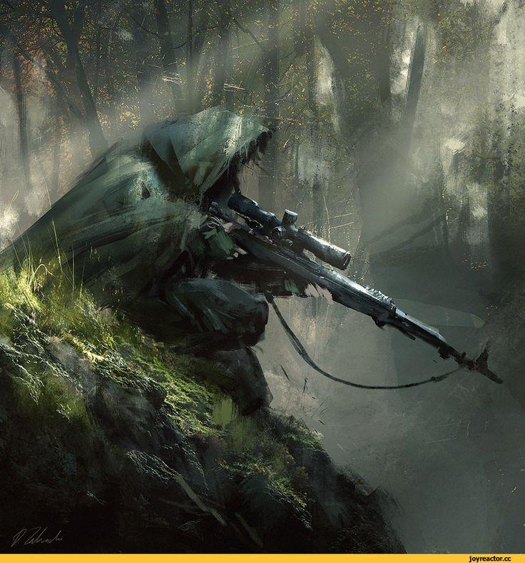 Картинки из сталкера снайперы