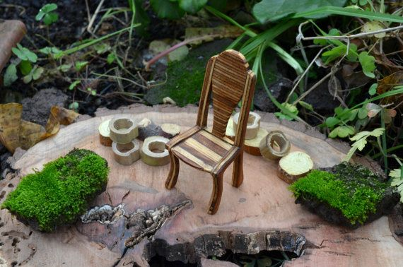 Wooden Ornamental chair  by Molinart by Molinart on Etsy, $50.00