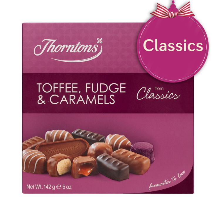 Thorntons Classics - Toffee, Fudge & Caramels
