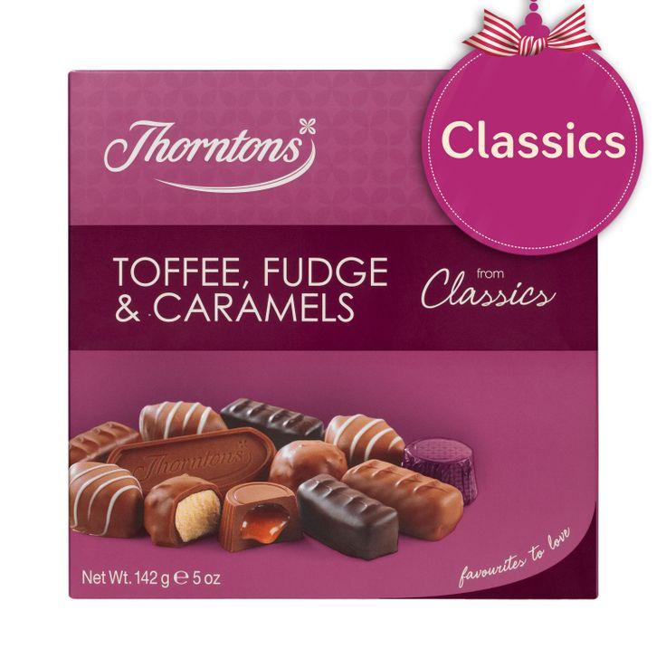 Thorntons Classics - Toffee, Fudge & Caramels