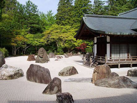 japan pond rock features - Google Search
