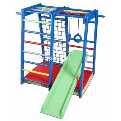 Детский спортивно-игровой уголок Кроха-2 Радуга