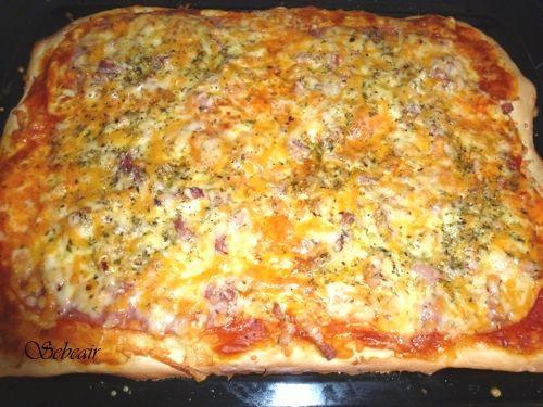 La cocina de sebeair: MASA DE PIZZA TIPO PIZZA HUT (thermomix y horno)