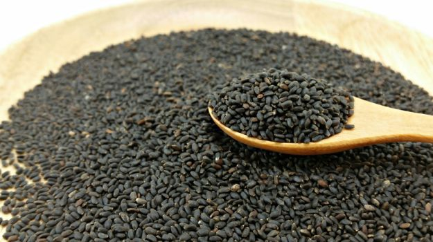 You're going to discover some amazing sabja seed benefits, also known as sweet basil, Falooda seed or Turkmaria seed.
