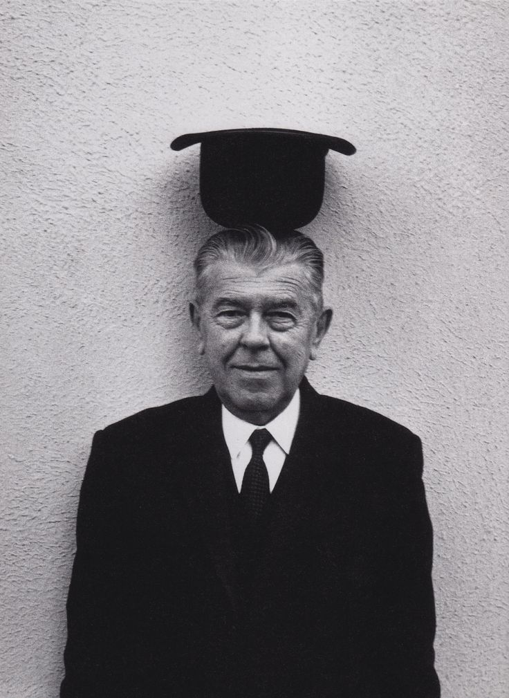 René Magritte by Duane Michals, 1965 | Vision: Rene ...