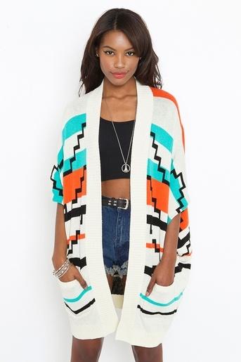 knit: Dream Wardrobe, Long Cardigan, Inspirational Images, Perfect Length, Style, Aztec White, Beautiful Women, Arizona Knit