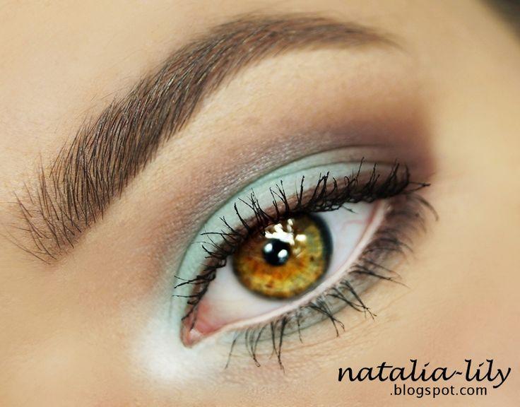 natalia-lily: Beauty Blog: Propozycja letniego makijażu w odcieniach mięty i brązu