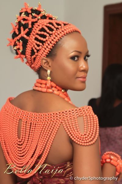 coralAfrican Fashion, Nigerian Brides, Coral Beads Nigerian Wedding, Beautiful Africa, Beads African Wedding Dresses, Traditional Wedding, Edo Brides, Bridal Beautiful, Bridal Accessories
