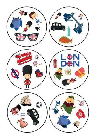 Kolejna porcja materiałów na zajęcia o Londynie to jedna z moich ulubionych gier karcianych Dobble. Zapraszam go gry!