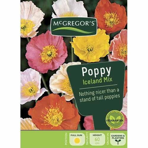 Iceland Mix Poppy  Flower Seed