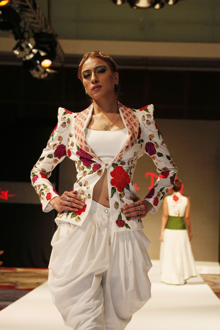 Designer Shilpa Reddy showcased her collection at India Fashion Week Dubai
