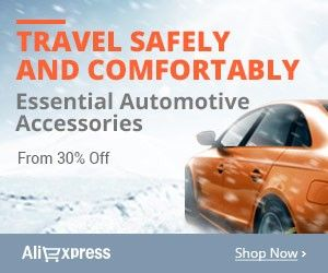 #Travel safely and comfortably  Essential automotive accessories.From 30% off