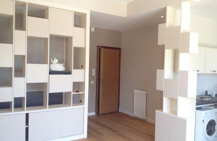 d limitation entree et s jour avec rangement faux. Black Bedroom Furniture Sets. Home Design Ideas