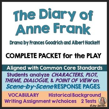 an analysis of the diary of anne frank by frances goodrich and albert hackett The diary of anne frank dramatized by frances goodrich and albert hackett.