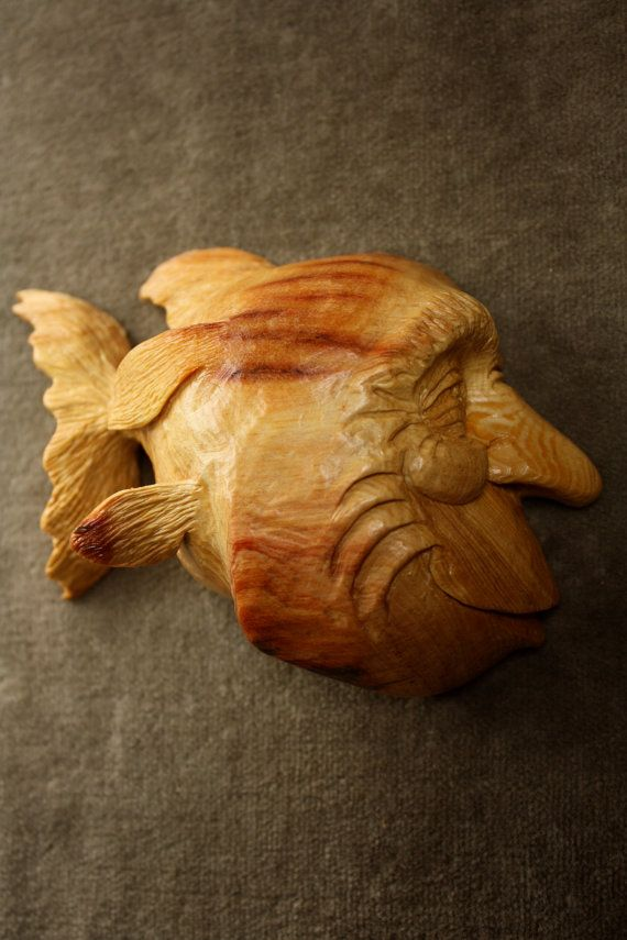 92 best wood carving images on pinterest woodcarving for Fish wood carving