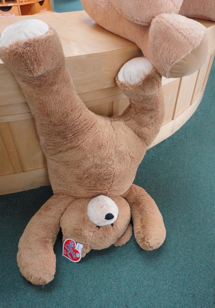 Whoops! Big Hunka Love Bear down!