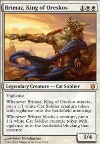 Brimaz Tiny Leaders (Commander / EDH MTG Deck)