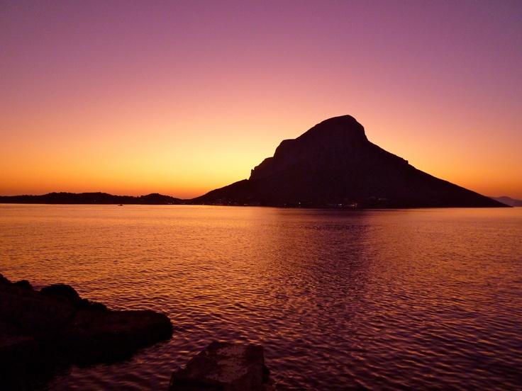 Breath taking sunset, from Kastelli Blu, Kalymnos Island