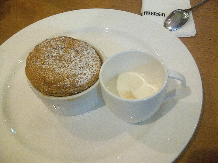 Bailey's Irish Cream Souffle at Bakerzin