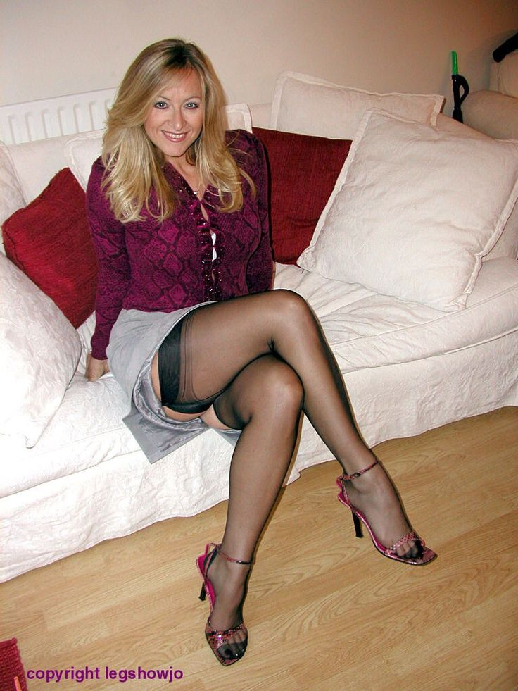 Mature women enjoying nylon sex