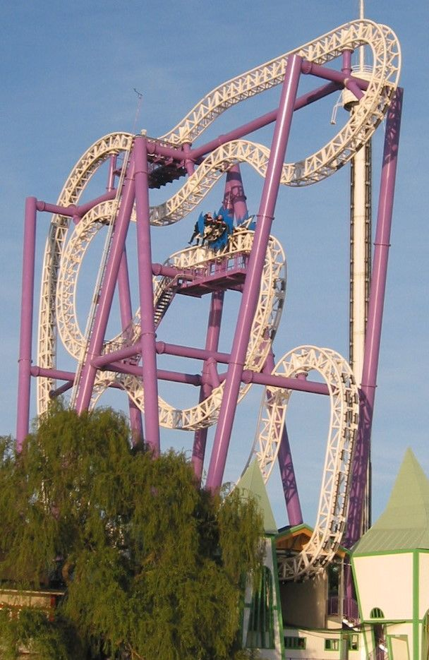 Insane - Gröna Lund (#Sweden) #rollercoaster  I have never seen a coaster like this!!