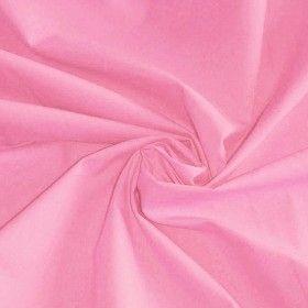 Katoenen Poplin Stof Roze