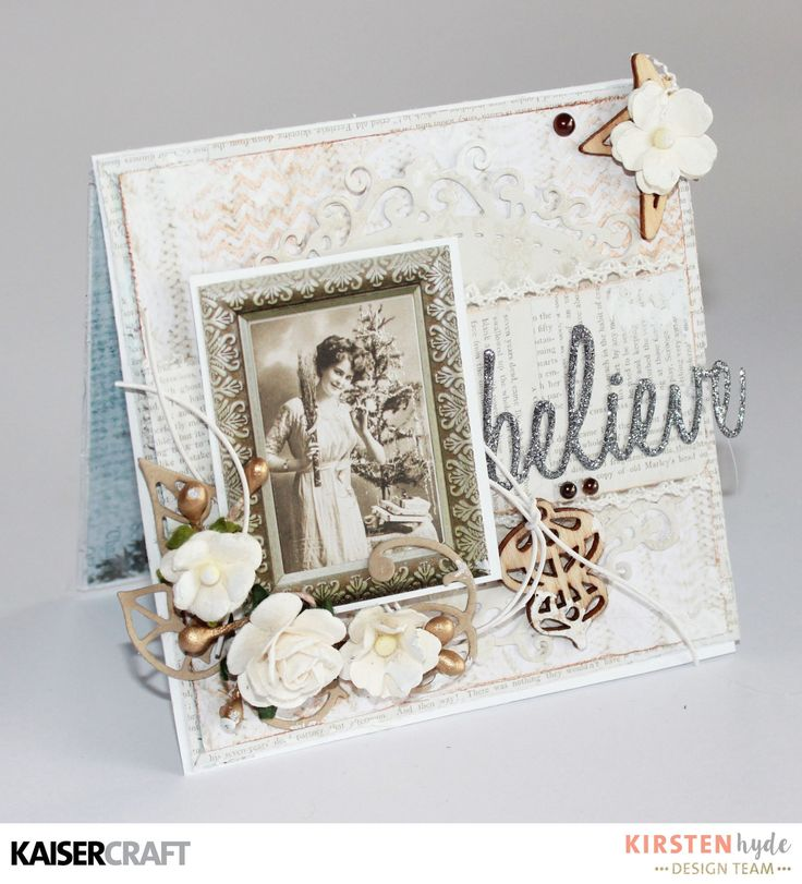 KAISERCRAFT - FROSTED - CHRISTMAS CARDS - KIRSTEN HYDE - MYHYDEAWAY - 14
