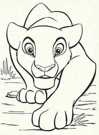 Simba Ausmalbilder Simba Malvorlagen Kinder Ausmalen