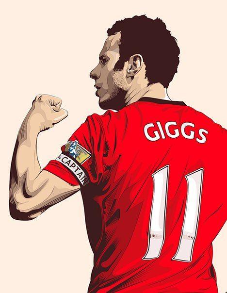 Ryan Giggs, Ryan Giggs.. Running down the wing!