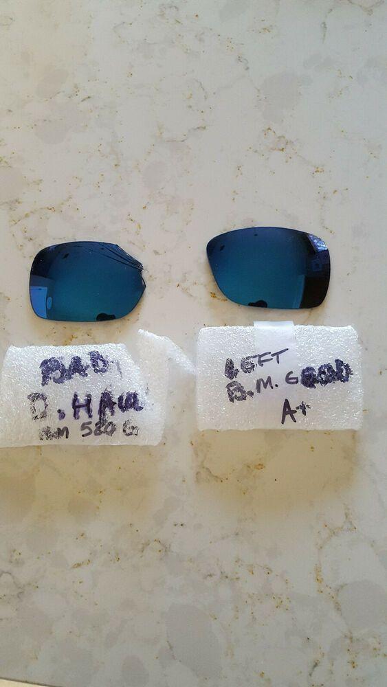 Black//Blue Mirror 580G Glass Costa Del Mar Double Haul 580G Sunglasses