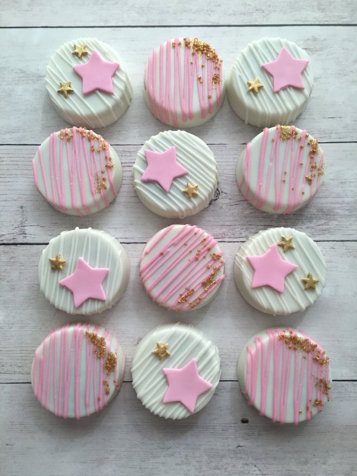 Twinkle Twinkle Little Star Birthday Party Cookies