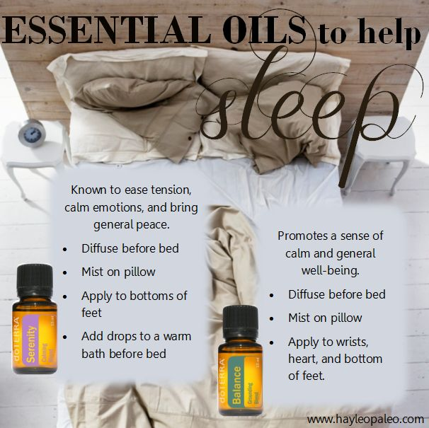 essential oil blends for great sleep! serenity balance mydoterra.com/kendragoodnight