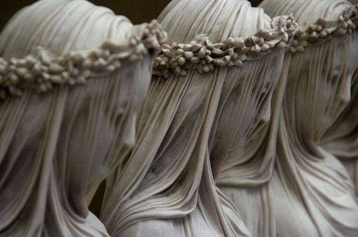 Raffaele Monti - Veiled Statues: Raffaele Monti, Sculptures, Statue, Marble, Veils, Art, Stone